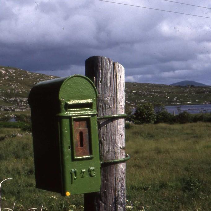Irish mailbox